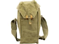 Military Surplus Belgium Gas Mask Bag Grade 2 Olive Drab