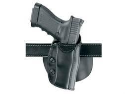 """Safariland 568 Custom Fit Belt & Paddle Holster S&W N-Frame 5"""" Barrel Composite Black"""