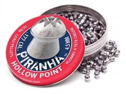 Crosman Piranha Premier Airgun Pellets 177 Caliber 10.5 Grain Hollow Point Tin of 400