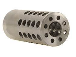 "Vais Muzzle Brake Micro 308 Caliber 1/2""-32 Thread .750"" Outside Diameter x 1.750"" Length Steel"