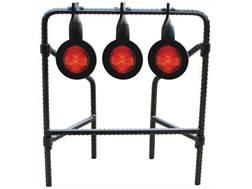 Do-All Bonehead Rebar Triple Spinner Target 22 Caliber Rimfire Steel