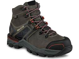 "Irish Setter Crosby 6"" Waterproof Non-Metallic Safety Toe Work Boots Leather/Nylon Gray Women's"