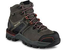 "Irish Setter Crosby 6"" Waterproof Non-Metallic Safety Toe Work Boots Leather/Nylon Gray Women's"