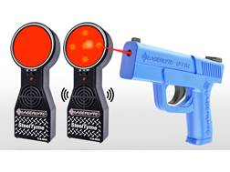 LaserLyte Steel Tyme Kit with Trigger Tyme Laser Trainer Pistol and 2 Steel Tyme Targets