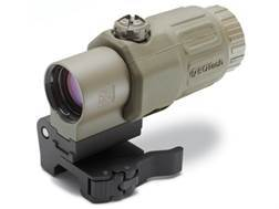 EOTech G33 3x Magnifier with Switch to Side Quick Detachable Mount Tan