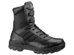 "Bates Tactical Sport 8"" Side-Zip Composite Safety Toe Tactical Boots Leather/Nylon"