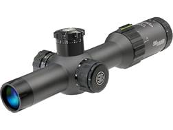 Sig Sauer Tango4 Rifle Scope 30mm Tube 1-4x 24mm 1/2 MOA Adjustments First Focal Illuminated Reticle