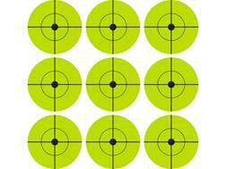 "U.S. Ballistics Target Spots 2"" Fluorescent Lime Green Package of 90"