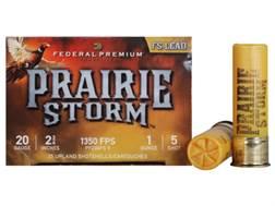 "Federal Premium Prairie Storm Ammunition 20 Gauge 2-3/4"" 1 oz #5 Plated Shot Case of 250 (10 Boxe..."