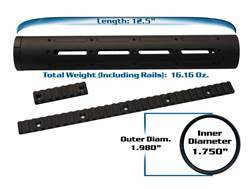 Yankee Hill Machine Customizable Free Float Tube Handguard AR-15 Aluminum Matte
