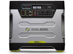 GoalZero Yeti 1250 Portable Solar Generator with Roll Cart