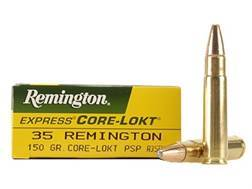Remington Express Ammunition 35 Remington 150 Grain Core-Lokt Pointed Soft Point Box of 20