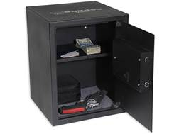 Bulldog Digital Pistol Vault Lockbox with Electronic Lock Black