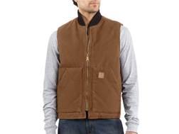 Carhartt Men's Sandstone Arctic Quilt Lined Vest Cotton