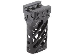 VTAC Ultra Light Vertical Grip Angled Aluminum Black
