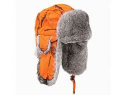Yukon Tracks Original Alaskan Fur Bomber Hat Cotton