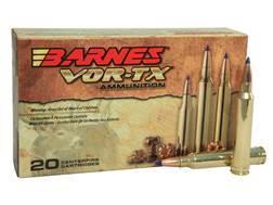 Barnes VOR-TX Ammunition 300 Winchester Magnum 180 Grain Tipped Triple-Shock X Bullet Boat Tail L...