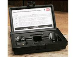 Forster Datum Dial Ammunition Measurement System Body with Case Dial in Storage Box