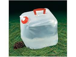 Texsport Collapsible Water Carrier 5 Gallon Polyethylene Clear
