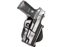 Fobus Standard Roto-Paddle Holster Right Hand Ruger P85, P89, P91 Polymer Black