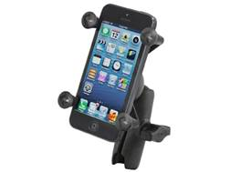 RAM Mounts Universal X-Grip Cell Phone Holder with Double Socket Arm