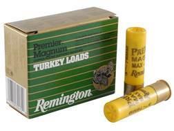 "Remington Premier Magnum Turkey Ammunition 20 Gauge 3"" 1-1/4 oz #6 Copper Plated Shot Box of 10"