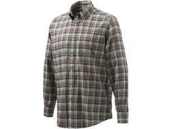 Beretta Men's Flannel Sport Shirt Long Sleeve Cotton