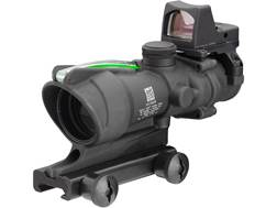 Trijicon ACOG Rifle Scope 4x 32mm Dual-Illuminated 223 Remington Reticle with 3.25 MOA RMR Type 2...