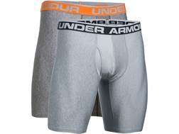 "Under Armour Men's 9"" Original Boxerjock Underwear Synthetic Blend Pack of 2"