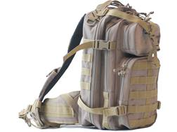 G.P.S. Tactical Bugout Backpack Loaded Nylon Tan