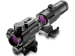 Burris AR-1X Prism Sight 1x 32mm with Integral Picatinny-Style Mount Matte with AR-Tripler Gen2 3...