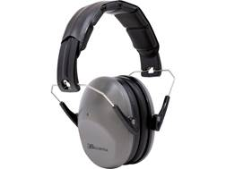 U.S. Ballistics Low Profile Earmuffs (NRR 21dB) Charcoal