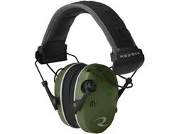 Radians R-3400 Electronic Earmuff Quad Microphone (NRR 24 dB) Military Green/Black