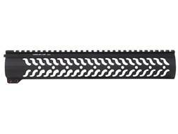 "Samson Evolution Series 12.37"" Customizable Free Float Handguard AR-15 Rifle Length Aluminum Matte"