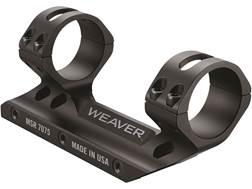 Weaver Premium MSR 1-Piece Scope Mount Picatinny-Style with Intregral Rings