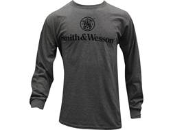 Smith & Wesson Men's Basic Logo T-Shirt Long Sleeve Cotton