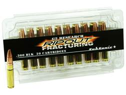 G2 Research RIP-OUT Ammunition 300 AAC Blackout Subsonic 200 Grain Fracturing Solid Copper Lead-F...
