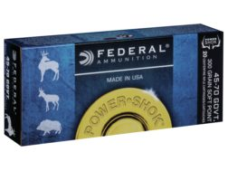 Federal Power-Shok Ammunition 45-70 Government 300 Grain Speer Hot-Cor Hollow Point Box of 20