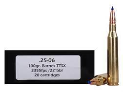 Doubletap Ammunition 25-06 Remington 100 Grain Barnes Tipped Triple-Shock X Bullet Lead-Free Box ...