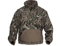 Banded Men's Chesapeake 1/4 Zip Waterproof Pullover Polyester Realtree Max-5 Camo Large