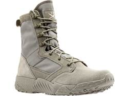 "Under Armour UA Jungle Rat 8"" Uninsulated Tactical Boots Leather and Nylon Sage Men's 12.5"