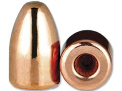 Berry's Bullets 9mm (356 Diameter) 124 Grain Plated Hollow Base Round Nose Thick Plate