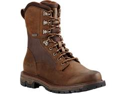 """Ariat Conquest 8"""" Waterproof GTX Uninsulated Hunting Boots Leather"""