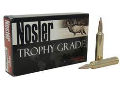 Nosler Trophy Grade Ammunition 30-378 Weatherby Magnum 210 Grain AccuBond Long Range Box of 20
