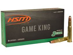 HSM GameKing Ammunition 30-30 Winchester 170 Grain Sierra Pro-Hunter Soft Point Boat Tail Box of 20