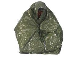 Snugpak Combat Casualty Survival Blanket Olive Drab and Silver