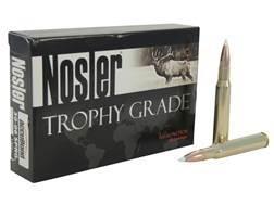 Nosler Trophy Grade Ammunition 30-06 Springfield 180 Grain AccuBond Box of 20