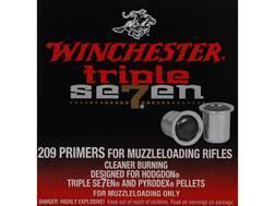 Winchester Triple Seven Primers #209 Muzzleloading Box of 100
