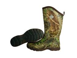 "Muck Pursuit Stealth Cool 15"" Uninsulated Hunting Boots Rubber and Nylon Realtree APG Camo Men's"