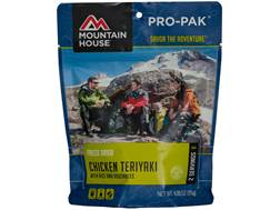 Mountain House Pro-Pak Vacuum-Sealed Chicken Teriyaki with Rice Freeze Dried Food 4.06 oz